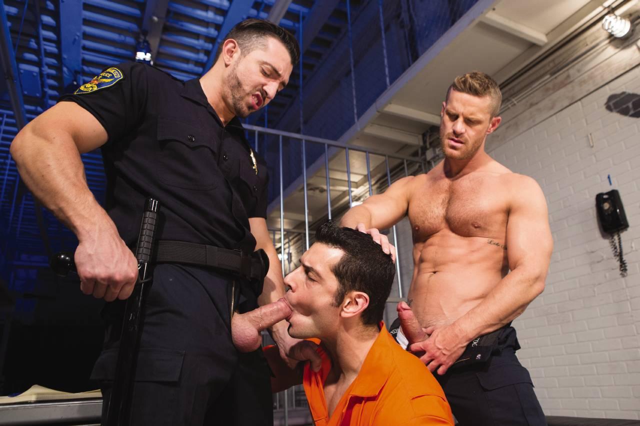 Порно Геи Полиция