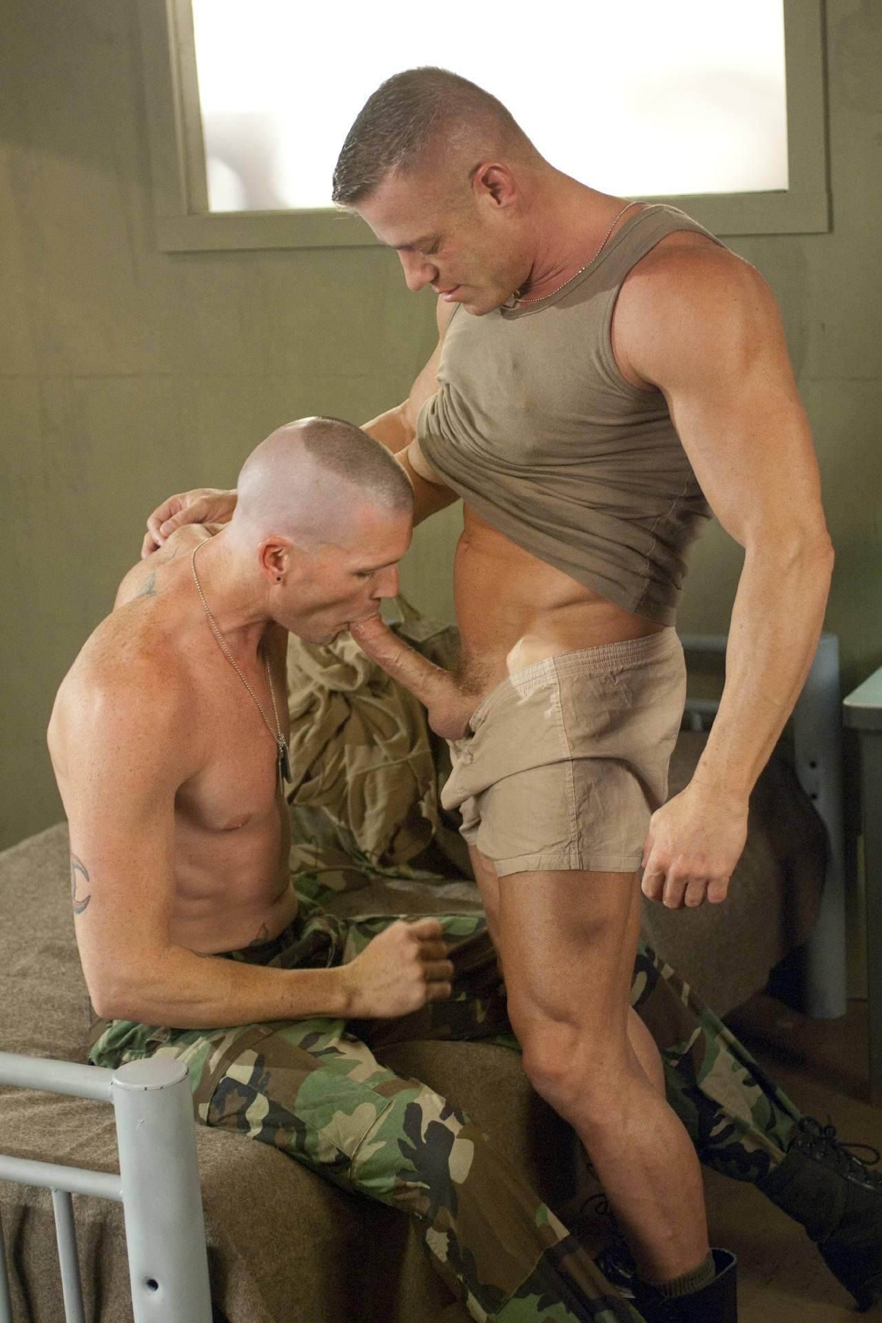 Гей Порно Военные