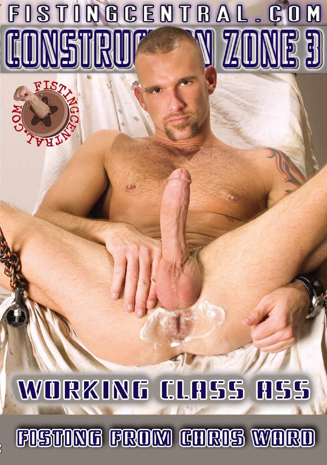 Construction Zone 3 Working Class Ass Cover Front
