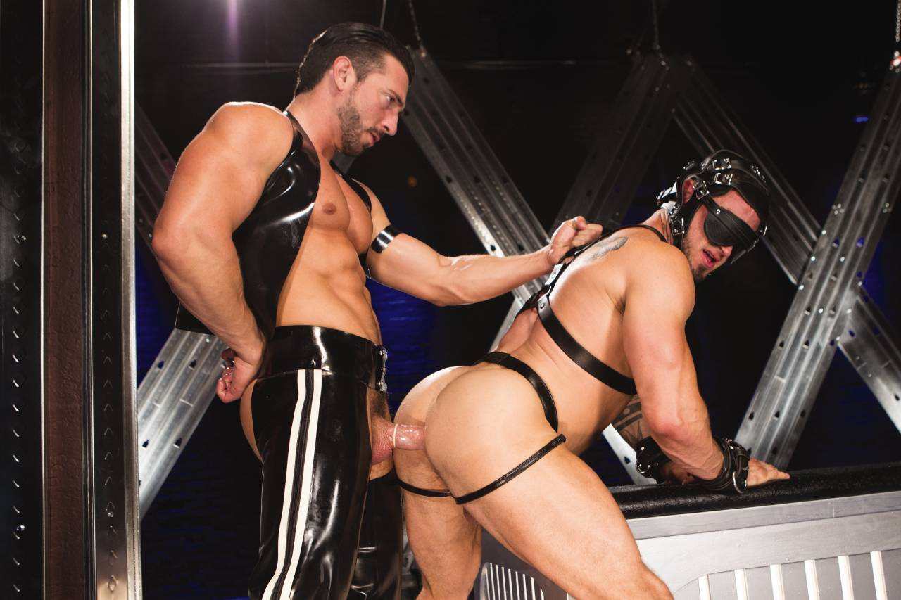 Muscles And Leather In Amazing Sex Times With Two Incredibly Horny Friends Tnaflix Porn Pics