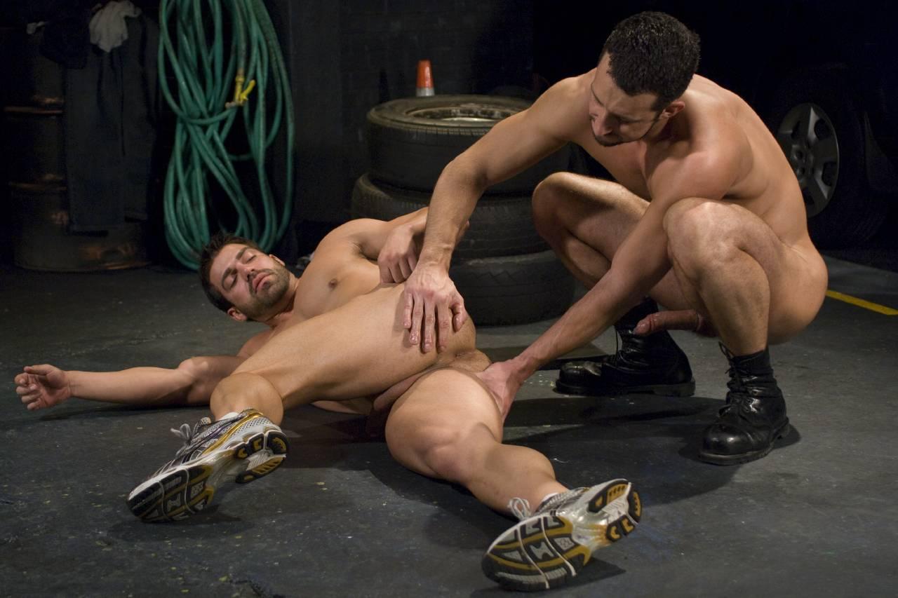 Hot gay orgasm