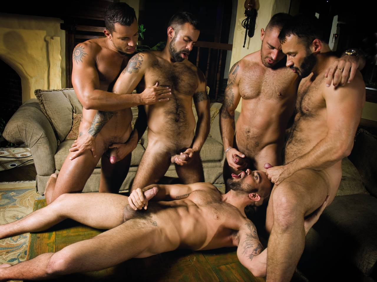 from Austin hairy gay orgy